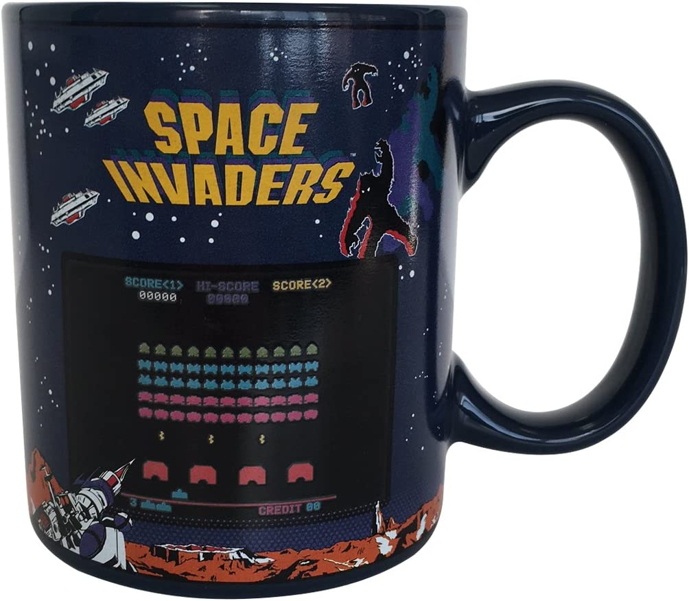 Paladone Space Invaders Heat Changing Mug