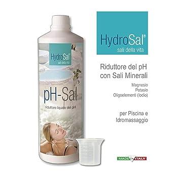 Reductor del PH enriquecido con sales minerales (Magnesio, Potasio, yodo) para tratamiento