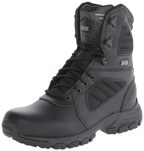 df51813c265 Magnum Men's Response III 8.0 Side-Zip Slip Resistant Work Boot
