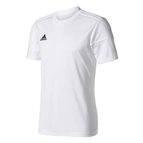 adidas Squad 17 JSY SS Camiseta de Manga Corta, Hombre, Blanco, 3XL