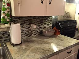 Giani Countertop Paint On Tile : ... .com: Customer Reviews: Giani Countertop Paint Kit, Chocolate Brown