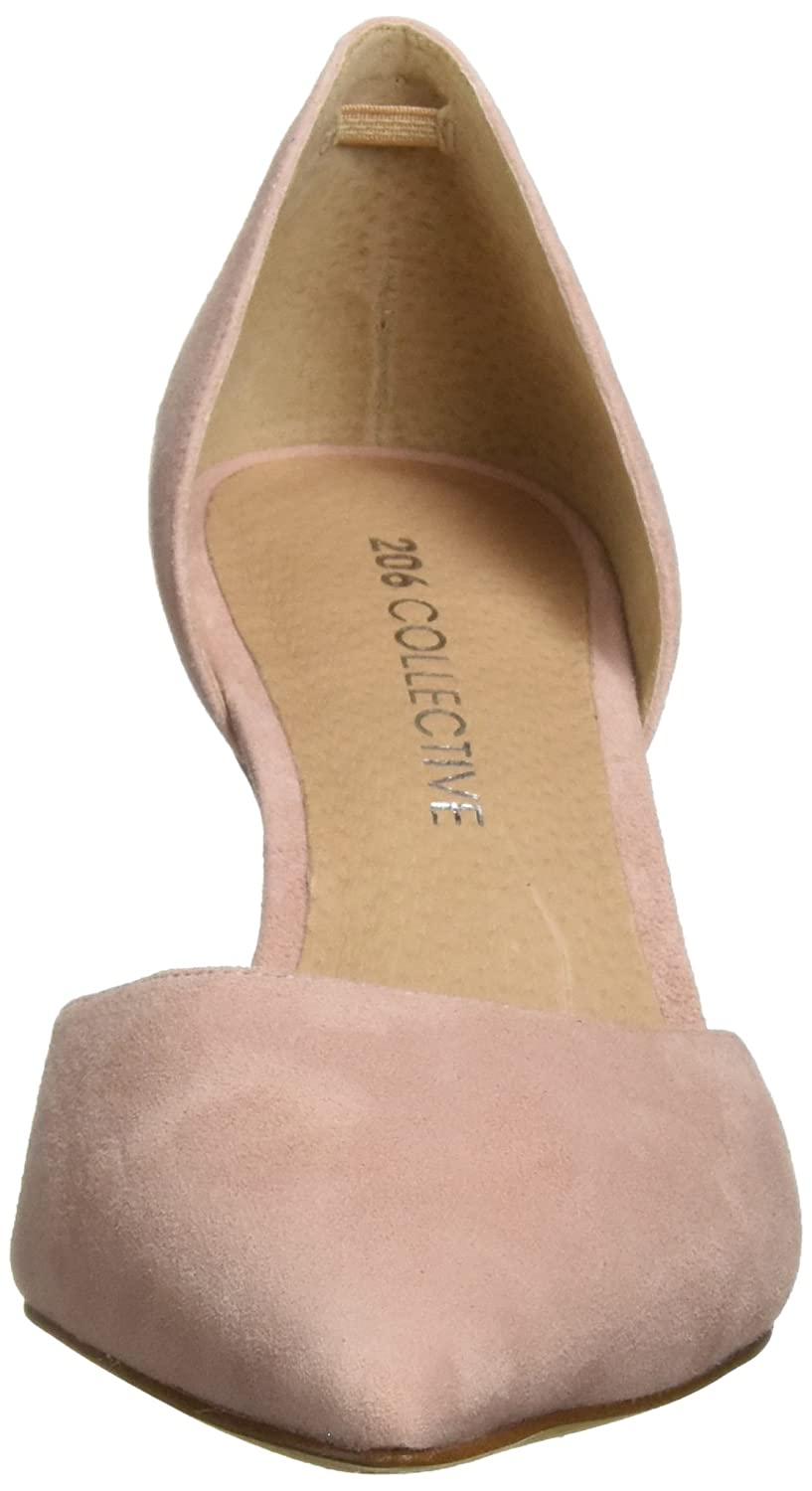 206 Collective Women's Adelaide D'Orsay Dress Pump B07894ZRSJ 10 B(M) US|Rose Suede