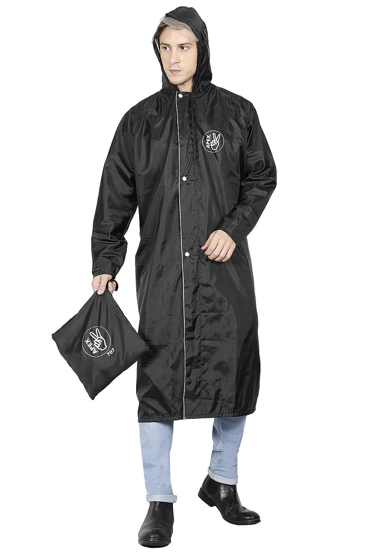 FabSeasons Full Raincoat with Adjustable Hood