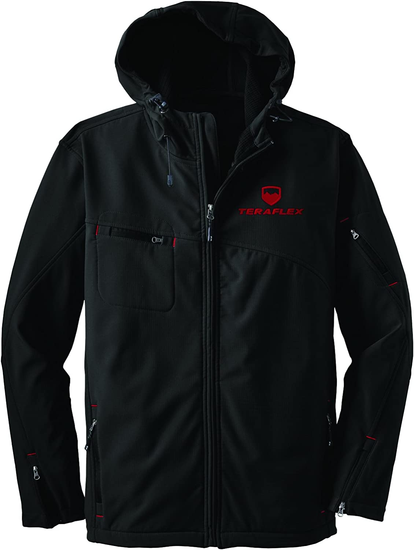 1 Pack TeraFlex 5230012 Black X-Large Jacket Diverge Soft Shell