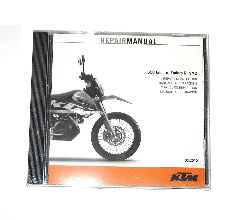 Amazon.com : NEW KTM OEM REPAIR MANUAL DISK DISC DVD CD KTM 690 ENDURO R  SMC 2008-2018 3206287 : Everything Else