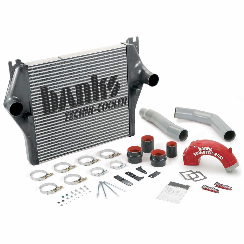 Banks 25980 techni-cooler intercooler system; fits 03-05 Cummins 5.9 liter