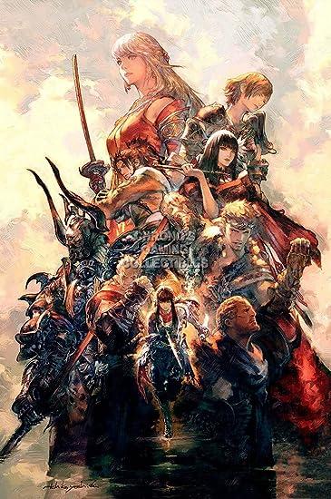 Cgc Huge Poster Glossy Finish Final Fantasy Xiv Online Stormblood