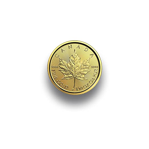 Goldmünze Maple Leaf 110 Unze 2018 9999 Feingold Aus Kanada