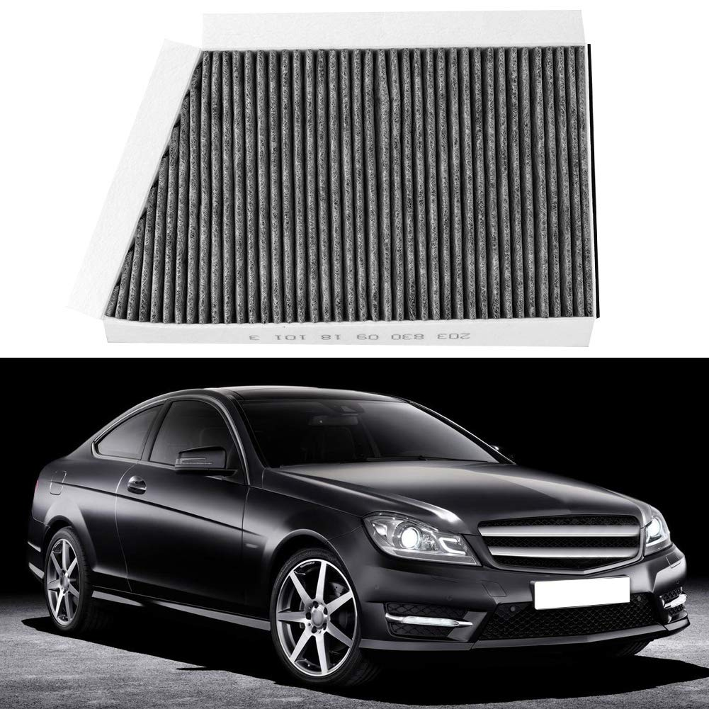 Gorgeri Activated Carbon Car Cabin Interior Anti-Pollen Dust Air Conditioner Filter for W//C//S203 C Class C209 CLK Class A2038300918