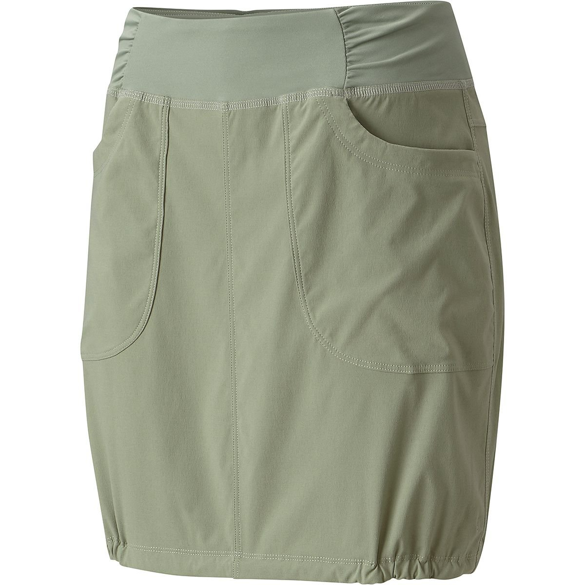 Mountain Hardwear Womens Dynama Skirt, Green Fade, Small