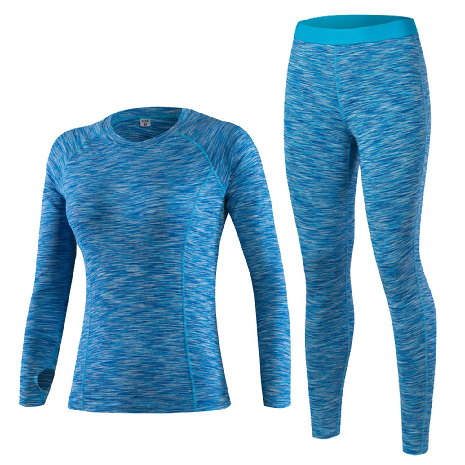Thermal Underwear Women Winter Quick Dry Anti-Microbial Stretch Thermo Underwear Sets Female Warm Long HI-Q