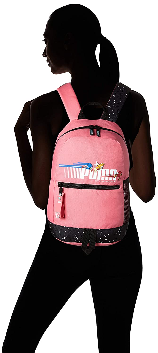 PUMA X Sega Backpack Sport Mochilla Unisex-Youth
