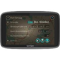 TomTom Go Professional 6250 LKW-Navigationsgerät (Updates über Wi-Fi, 15,2 cm (6 Zoll), Lebenslang Traffic und Radarkameras, Smartphone Benachrichtigungen, Lebenslang Karten-Updates Europa)
