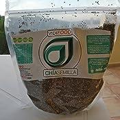 Semillas de Chía Naturales - 2 x 1 kg - Alta Calidad - Fuente Rica de Omega-3, Fibra y Proteínas - Completamente Natural, Sin Toxinas - Adecuado para ...