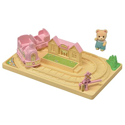 Calico Critters Baby Choo-Choo Train: Toys & Games