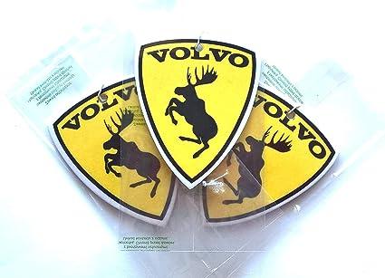 Freeco Car Air Freshener Volvo Yellow Auto