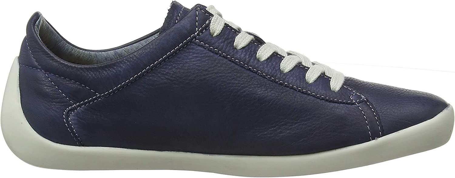 Softinos Women's Low-Top Sneakers (Navy 000)