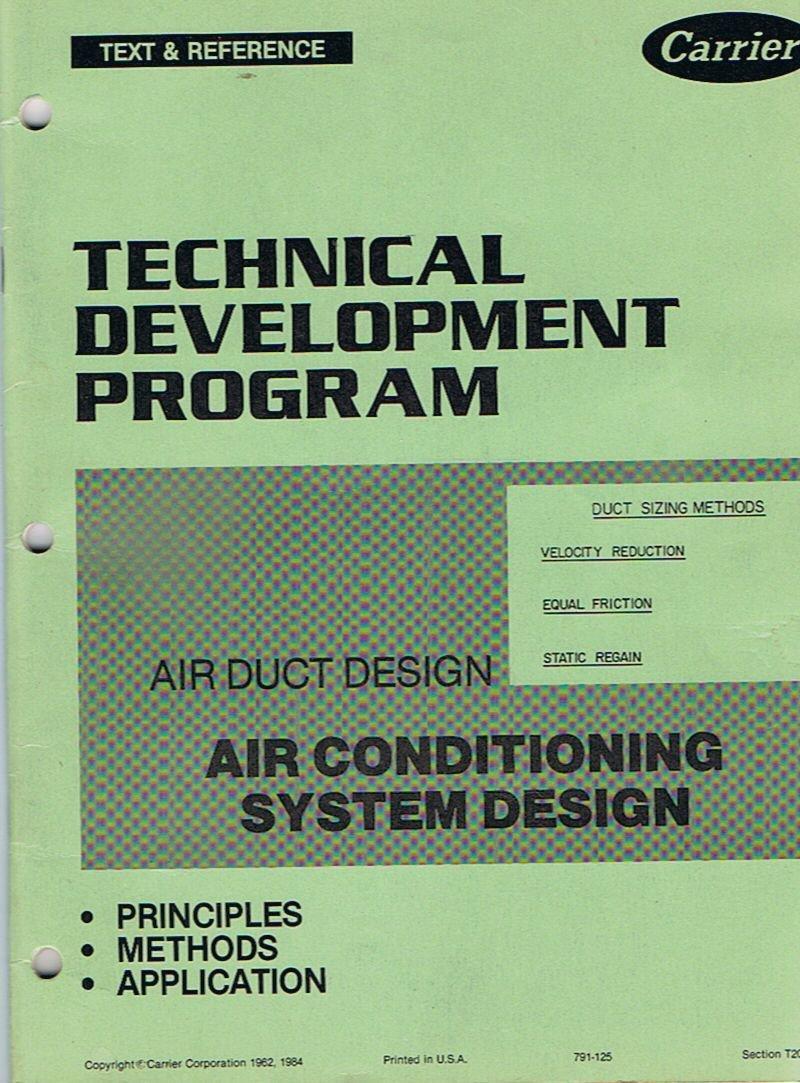 Carrier Technical Development Program Air Duct Design