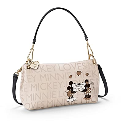 Disney Mickey Mouse And Minnie Mouse 3 in 1 Handbag by The Bradford Exchange   Handbags  Amazon.com 306432ca3058c