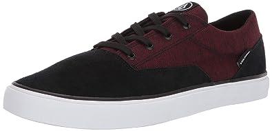Volcom Draw LO Suede Shoe Sneaker Herren Blau Sneaker Low