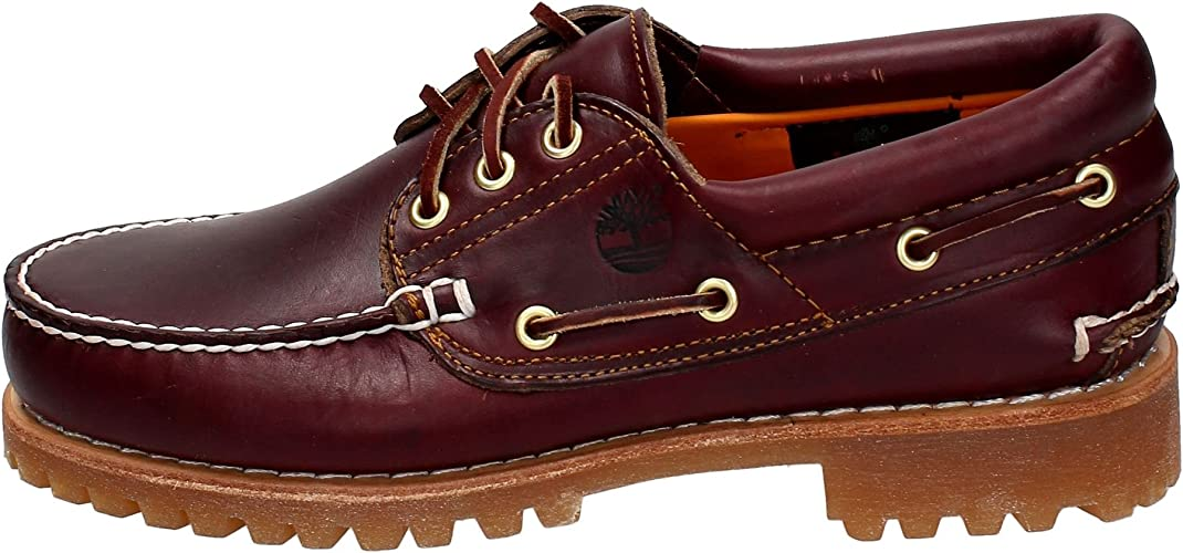 Literatura Demostrar familia  Timberland Men's Authentics 3 Eye Classic Boat Shoes: Amazon.co.uk: Shoes &  Bags