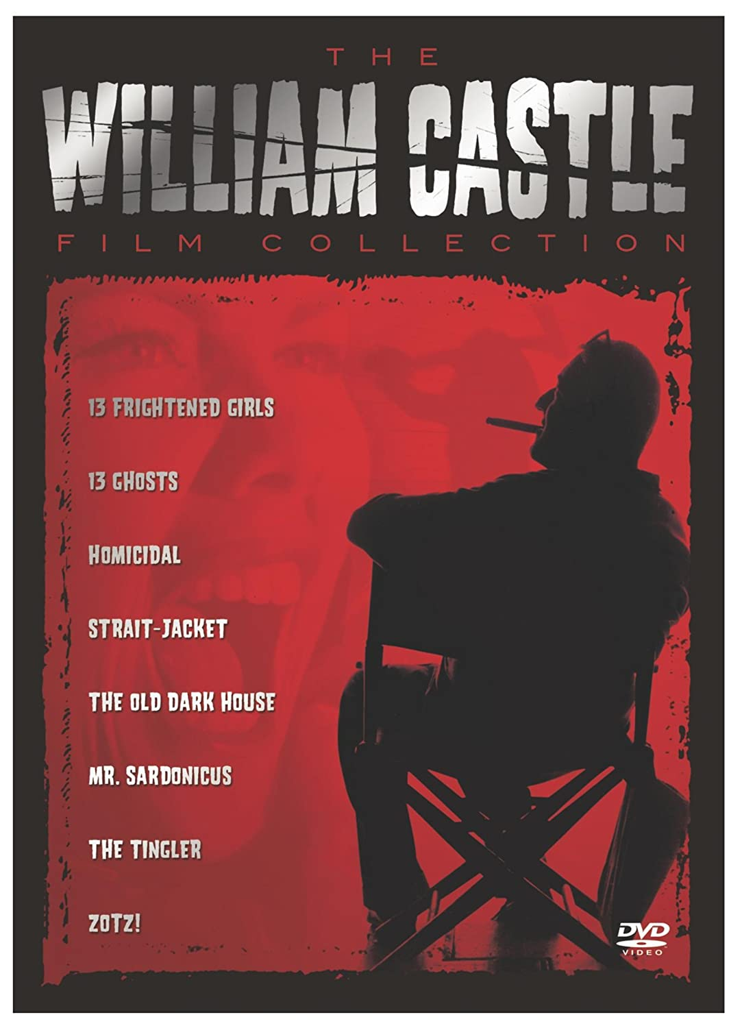 Amazon.com: The William Castle Film Collection (13 Frightened ...