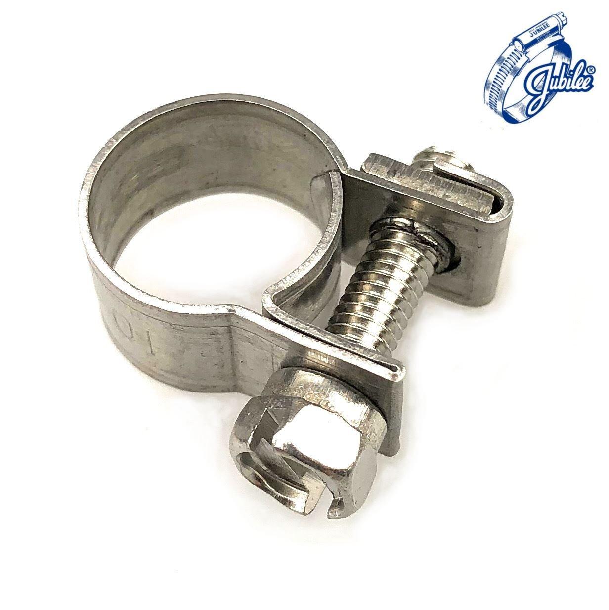 Jubilee Junior Clip 7-9mm Zinc Plated 2 clips