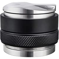 58mm Coffee Distributor & Tamper, MATOW Dual Head Coffee Leveler Fits for Portafilter, Increased Adjustable Depth…