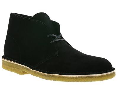 f26a10b067443 Clarks Desert Boot Chaussures en Dentelle en Cuir Véritable pour ...