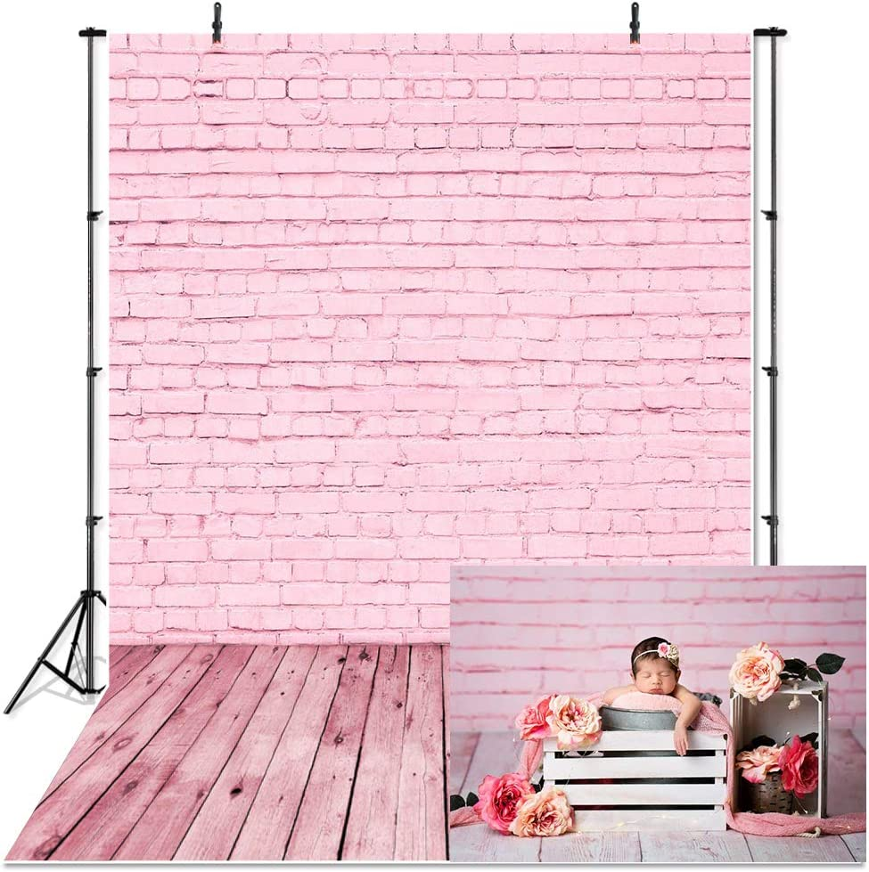 8x8FT Vinyl Wall Photography Backdrop,Pink,Fantasy Magic Photo Backdrop Baby Newborn Photo Studio Props