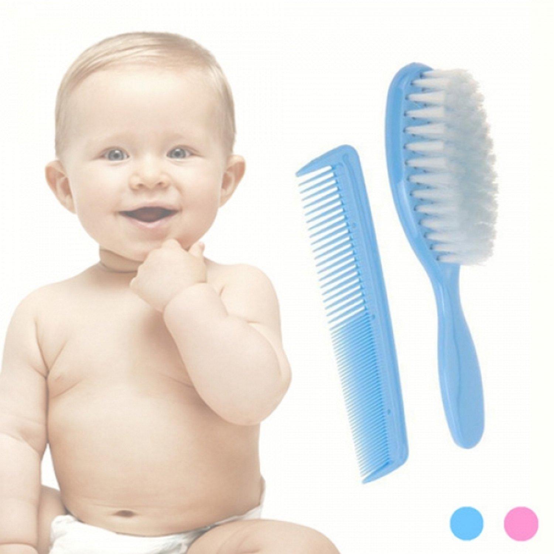 SET: Baby-Bürste und Kamm (rosa) Accessories 20615