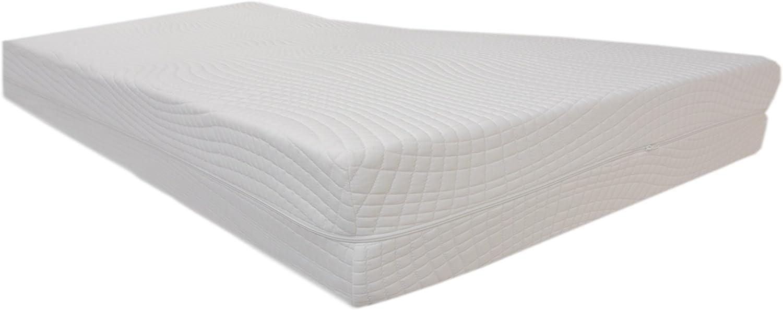 Dibapur ® RG40 Excellent- Colchón de espuma fría de 9 zonas ortopédicas, H3 Standard 150x190