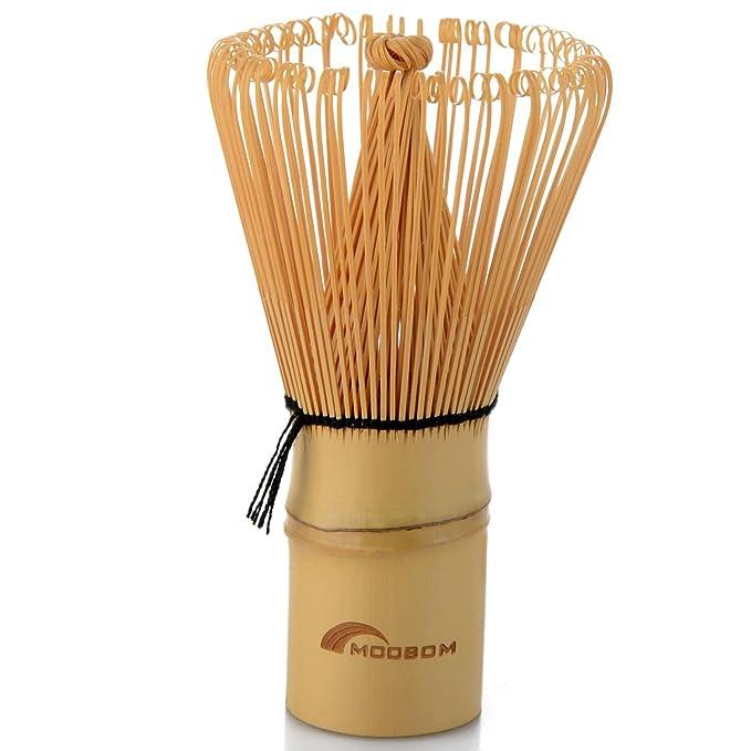 14 opinioni per seguryy 1pc 110 millimetri x 58 millimetri Bamboo Tea Set Matcha Frusta Teaism