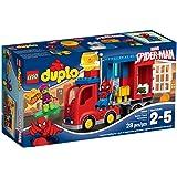LEGO - 10608 - DUPLO - Jeu de Construction - L'aventure de Spider-man en Camion Araignée