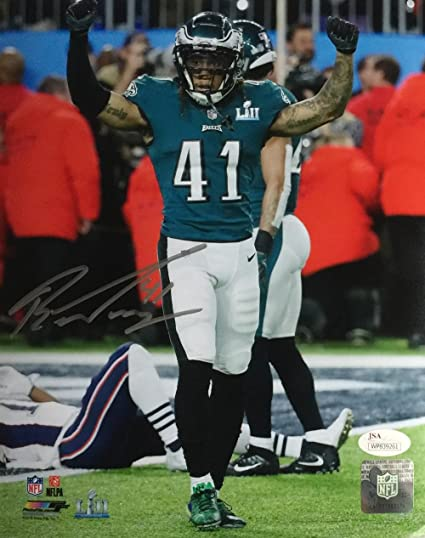 Ronald Darby Signed 8x10 Philadelphia Eagles Super Bowl LII Photo JSA ITP c45525fc7