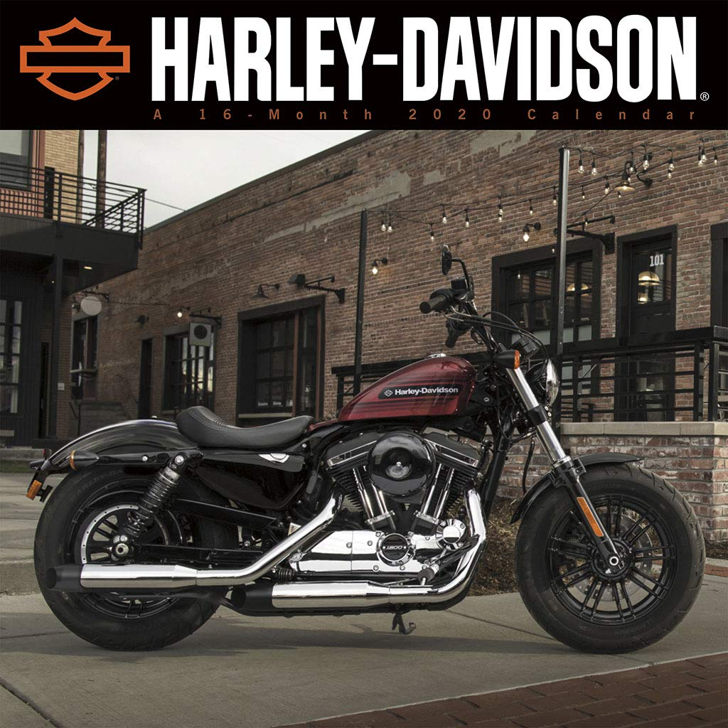 Harley Davidson 2020 Wall Calendar: Trends International