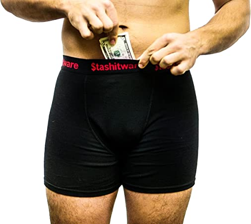 Pocket Underwear from Stashitware. Pickpocket Proof. Made for Travel.