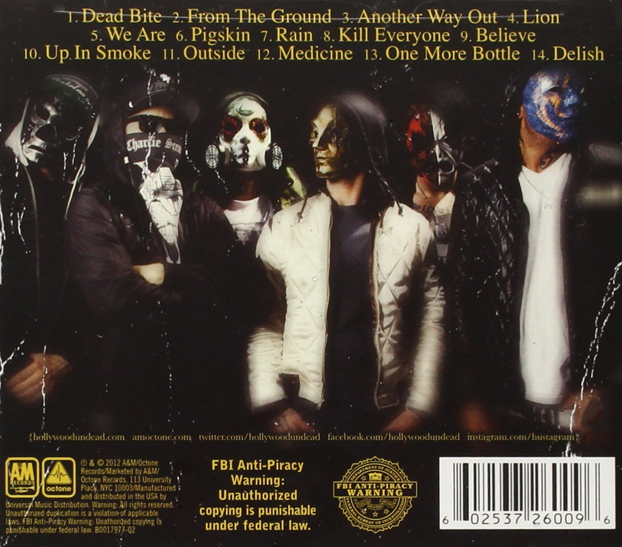 Notes From The Underground: Hollywood Undead : Amazon.es: Música