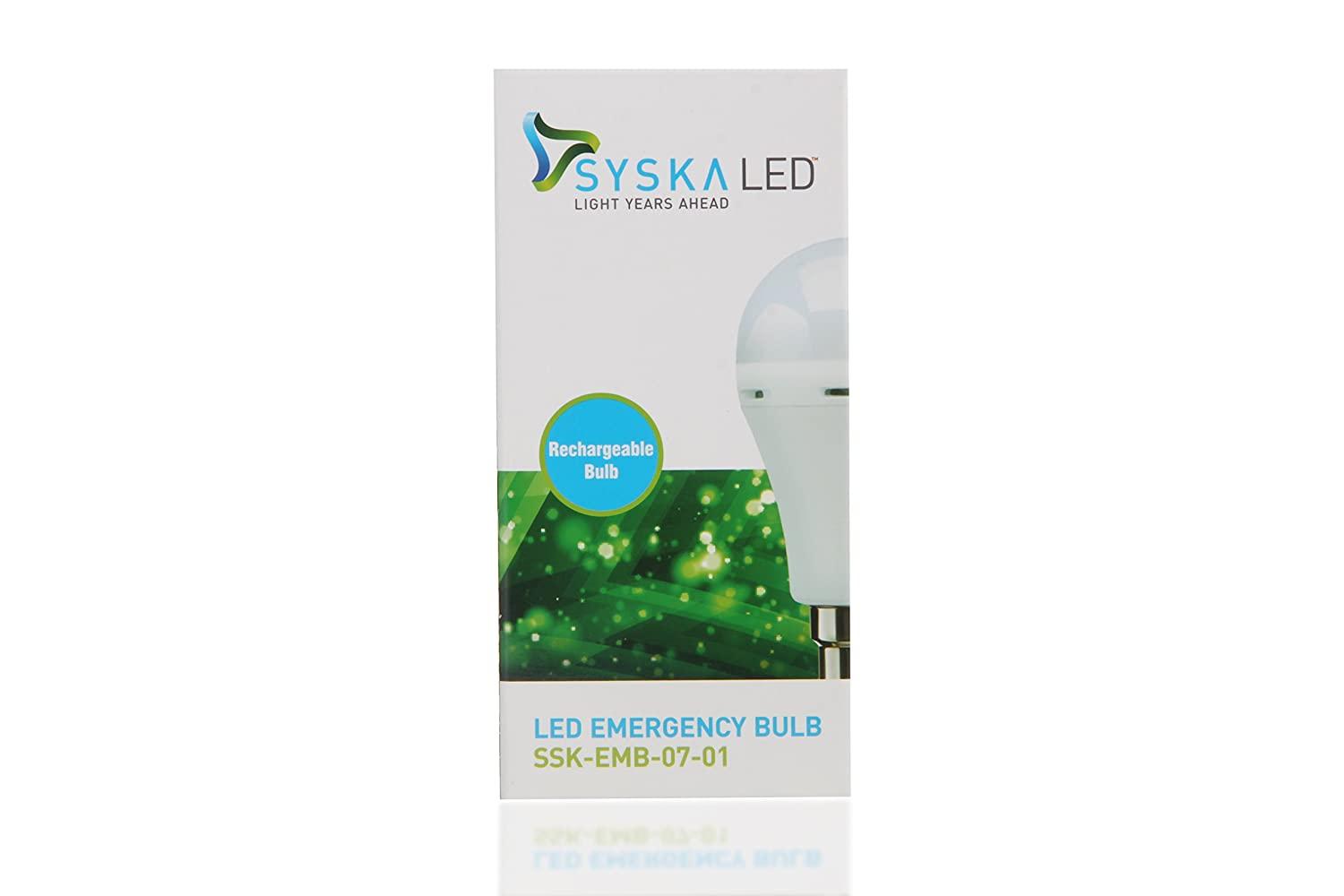 Buy Syska 7 Watts Rechargeable Inverter Led Bulb Pack Of 1 Cool Emergency Lighting Wiring Together With Light Circuit In White Online At Low Prices India
