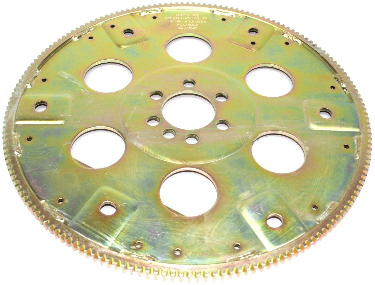 PRW 1835003 SFI-Rated External Balance 168 Teeth Chromoly Steel Flexplate for Chevy 350 1986-97 Late by PRW