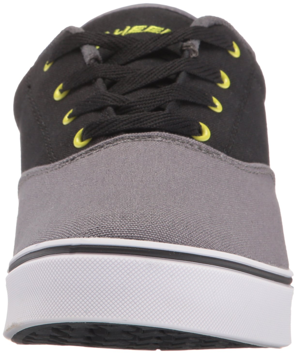 Heelys Men's Launch Fashion Sneaker Charcoal/Black/Lime 10 M US by Heelys (Image #4)