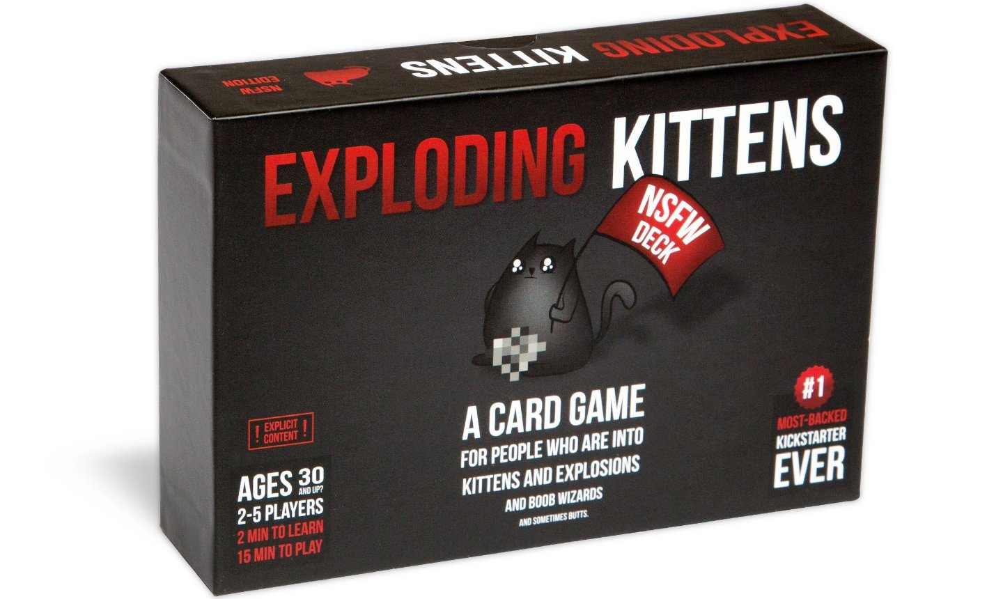 Exploding Kittens https://amzn.to/2PqWXPc