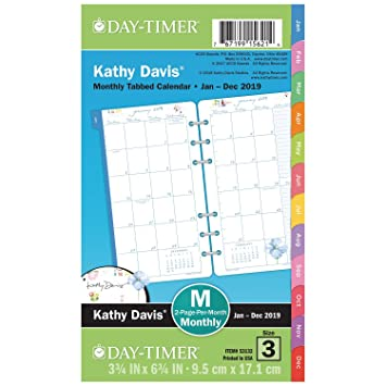 Daytimer Calendar December 2019 Sizes Amazon.: Day Timer 2 Page Per Month Planner Refill, January