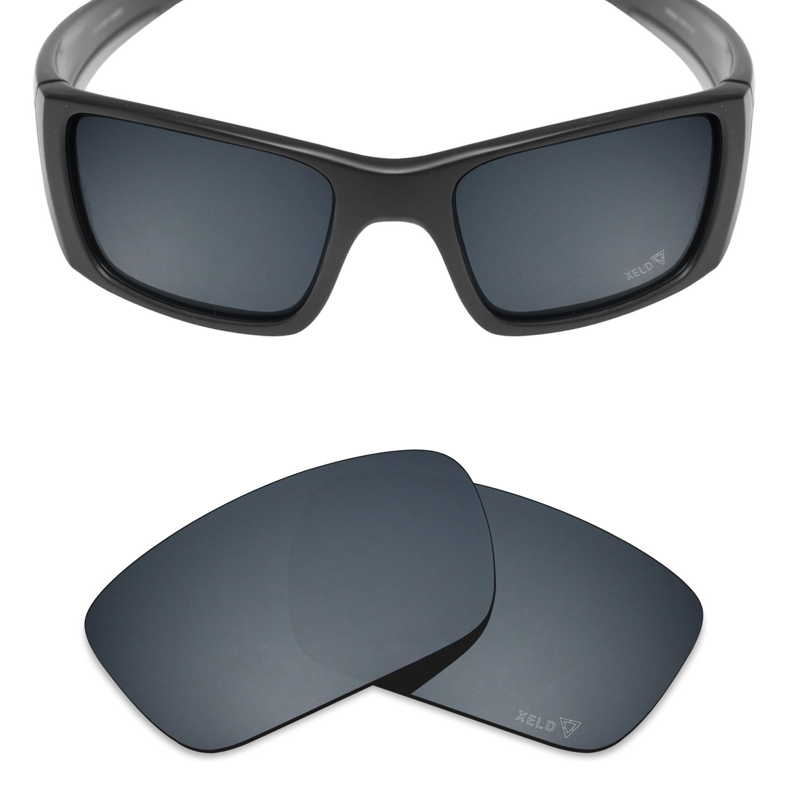 Mryok XELD Replacement Lenses for Oakley Fuel Cell - Spawn Black by Mryok