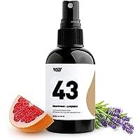 43 Clothing Refresh Spray, Essential Oil-Based All-Natural Ingredients Deodorizing Mist (Grapefruit, Orange, Lavender…