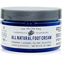 All Natural Antifungal Foot Cream. Moisturizing Organic Relief for Dry Cracked Heels