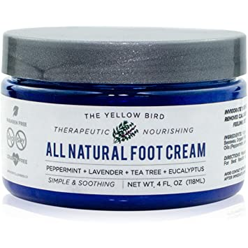 The Yellow Bird All Natural Antifungal Foot Cream - Best Antifungal Foot Cream