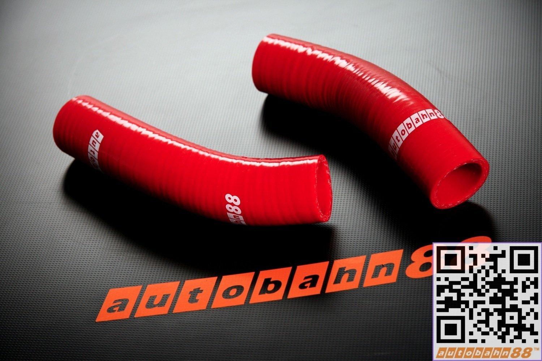 Autobahn88 Kit de la manguera de radiador refrigerante de silicona, Modelo ASHK95-RD (Rojo - sin sistema de abrazadera): Amazon.es: Coche y moto