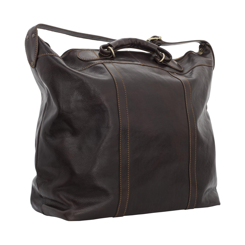 Alberto Bellucci Women's Italian Leather Tahiti  Travel Tote Bag, Large