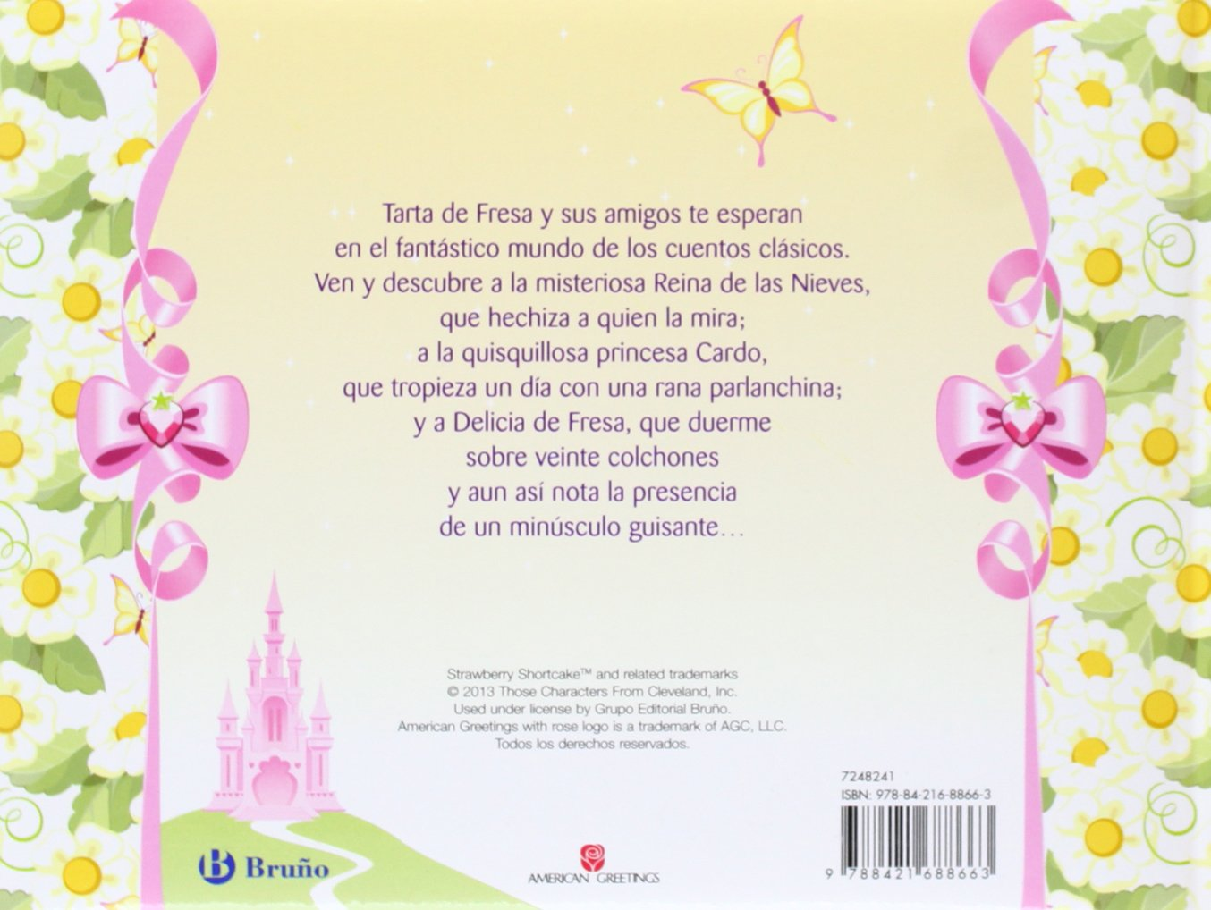 Amazon.com: Nuevos cuentos de princesas / New Tales of princesses (Tarta de fresa / Strawberry Shortcake) (Spanish Edition) (9788421688663): Sara Álvarez, ...